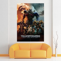Transformers the Last Knight 2017 Movies Block Giant Wall Art Poster (P-2074)