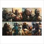 โปสเตอร์ ขนาดใหญ่ Transformers 5 The Last Knight Characters ทรานส์ฟอร์มเมอร์ส