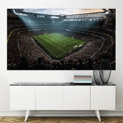 Fifa 18 Soccer Video Game Stadium Block Giant Wall Art Poster (P-2087)