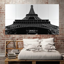 Paris Block Giant Wall Art Poster (P-2090)