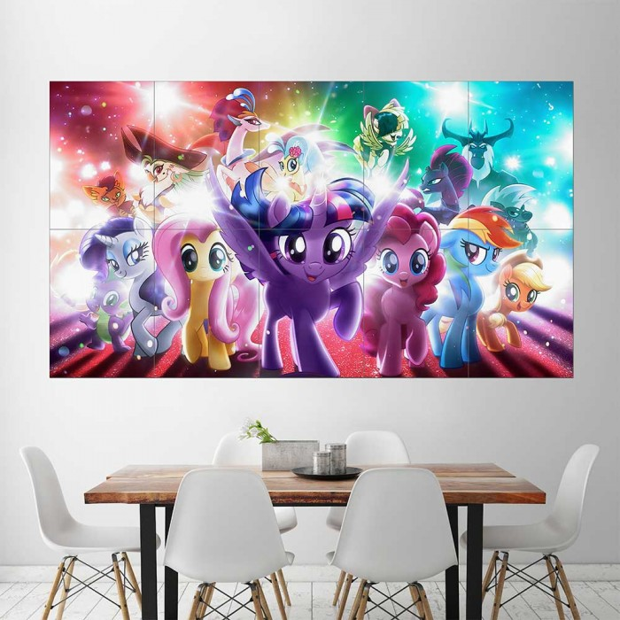 My Little Pony The Movie Block Giant Wall Art Poster Part 98