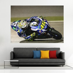Valentino Rossi MotoGP Block Giant Wall Art Poster (P-2092)
