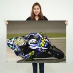 โปสเตอร์ ขนาดใหญ่ Valentino Rossi MotoGP