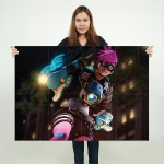 Punk Tracer Overwatch Block Giant Wall Art Poster