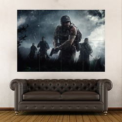 Tom Clancys Ghost Recon Wildlands Season Pass Block Giant Wall Art Poster (P-2113)