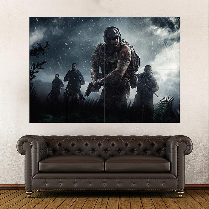Tom Clancys Ghost Recon Wildlands Season Pass Block Giant Wall Art