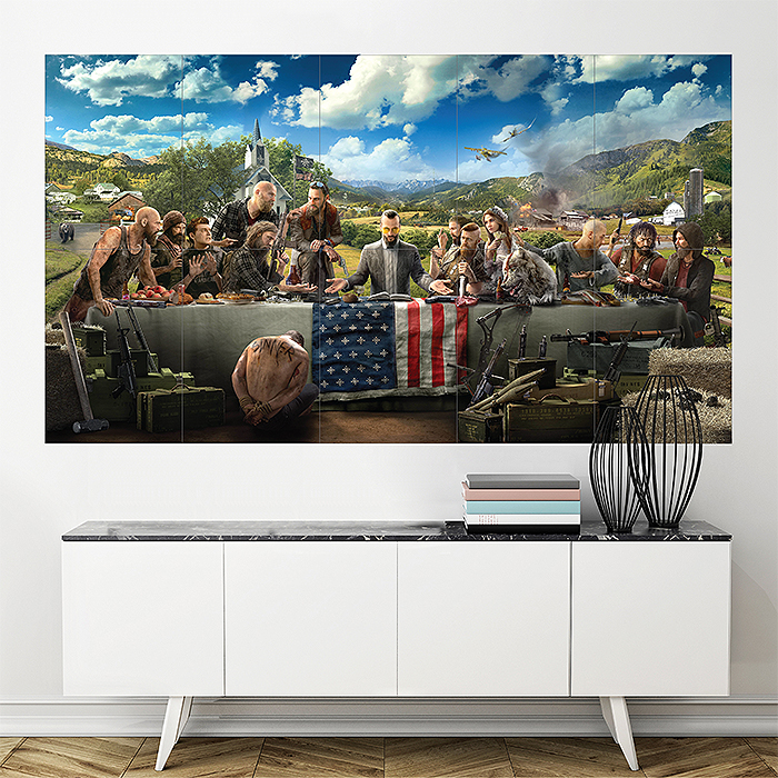 Far Cry 22 Block Giant Wall Art Poster
