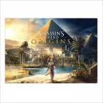Assassins Creed Origins 2017 Block Giant Wall Art Poster