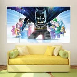 Lego Batman 3 Beyond Gotham Block Giant Wall Art Poster (P-2154)