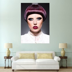 Bangs Fringes Hair Block Giant Wall Art Poster (P-2157)