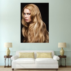 Blonde Welle Haare  Block Giant Wall Art Poster (P-2160)