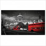 London United Kingdom  Block Giant Wall Art Poster