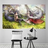 Granblue Fantasy Europa Wallscroll Poster Kunstdrucke Bider Drucke