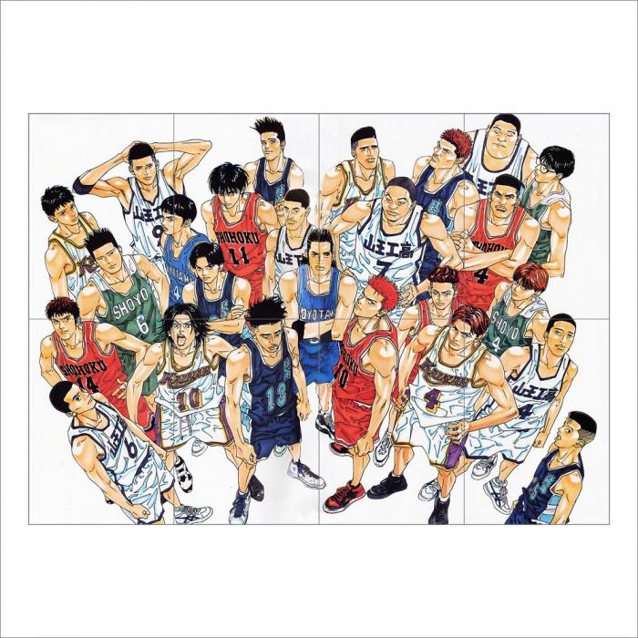 ขาย โปสเตอร์ ขนาดใหญ่ Slam Dunk Basketball Manga