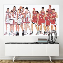 Slam Dunk Basketball Anime Block Giant Wall Art Poster  (P-2171)