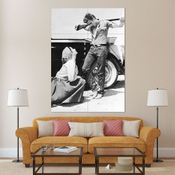 James Dean Giant Moive  Block Giant Wall Art Poster (P-2173)