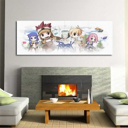 Ragnarok Online Video Game Block Giant Wall Art Poster (P-2179)