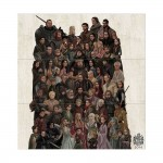 Game of Thrones Family Tree Block Giant Wall Art Poster