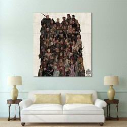Game of Thrones Family Tree Block Giant Wall Art Poster (P-2180)