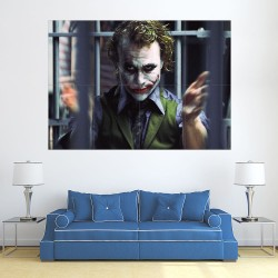 โปสเตอร์ ขนาดใหญ่  Joker Heath Ledger  (P-2181)