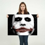 Batman Joker Heath Ledger Joker Block Giant Wall Art Poster