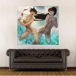 Overwatch Tracer widowmaker Bikini Block Giant Wall Art Poster (P-2211)