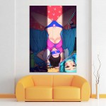 Overwatch D.Va Game Play Block Giant Wall Art Poster