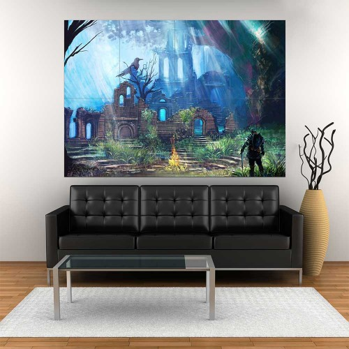 Dark Souls III Ruin  Block Giant Wall Art Poster