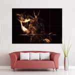 Dark Souls III The Fire Knightx Block Giant Wall Art Poster
