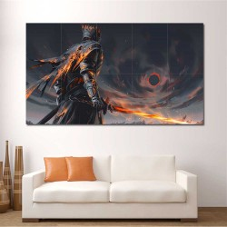 Dark Souls III The Soul of Cinder Block Giant Wall Art Poster (P-2238)