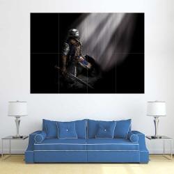 Dark Souls III Knight of Astora Block Giant Wall Art Poster (P-2239)
