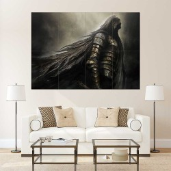 Dark Souls Game   Block Giant Wall Art Poster (P-2242)