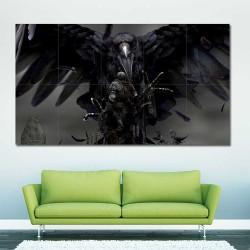 Dark Souls III Ravenking Block Giant Wall Art Poster (P-2243)