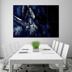 Dark Souls III Beast Knight  Block Giant Wall Art Poster (P-2244)