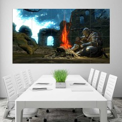 Dark Souls III Campfire Block Giant Wall Art Poster (P-2245)