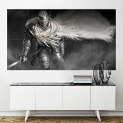 Dark Souls II Knight of Heide  Block Giant Wall Art Poster (P-2249)
