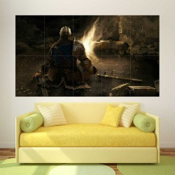 Dark Souls III Fire Block Giant Wall Art Poster (P-2253)