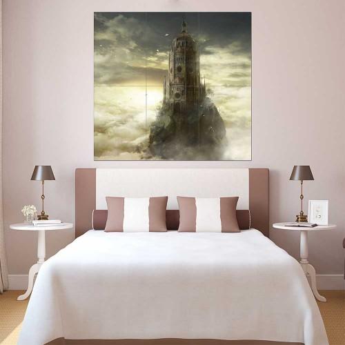 Dark Souls III The Ringed City Block Giant Wall Art Poster