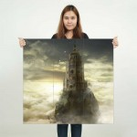 Dark Souls III The Ringed City Block Giant Wall Art Poster
