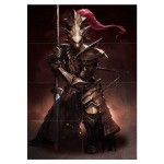 Dark Souls III Dragonslayer Ornstein Block Giant Wall Art Poster