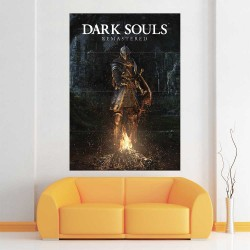 Dark Souls III Knight Block Giant Wall Art Poster (P-2267)