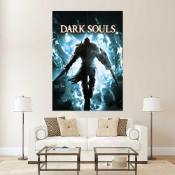 Dark Souls III Video Game Block Giant Wall Art Poster (P-2268)