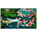 Koi Craps FishBlock Giant Wall Art Poster