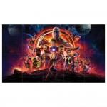 Avengers Infinity War Block Giant Wall Art Poster