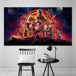 โปสเตอร์ ขนาดใหญ่ Avengers Infinity War  (P-2294)