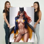 Sexy Batgirl Barbara Gordon Block Giant Wall Art Poster