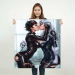 Black Cat kiss Catwoman Batman Block Giant Wall Art Poster