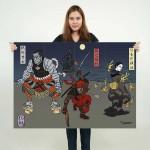 โปสเตอร์ ขนาดใหญ่ เดดพูล Deadpool Japan Art