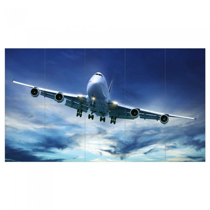 AIRBUS A380 SUPER JUMBO AEROPLANE  GIANT WALL POSTER ART PICTURE PRINT LARGE