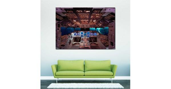 space shuttle cockpit poster - photo #24